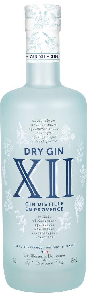 Gin XII Distilleries et Domaines de Provence Provence