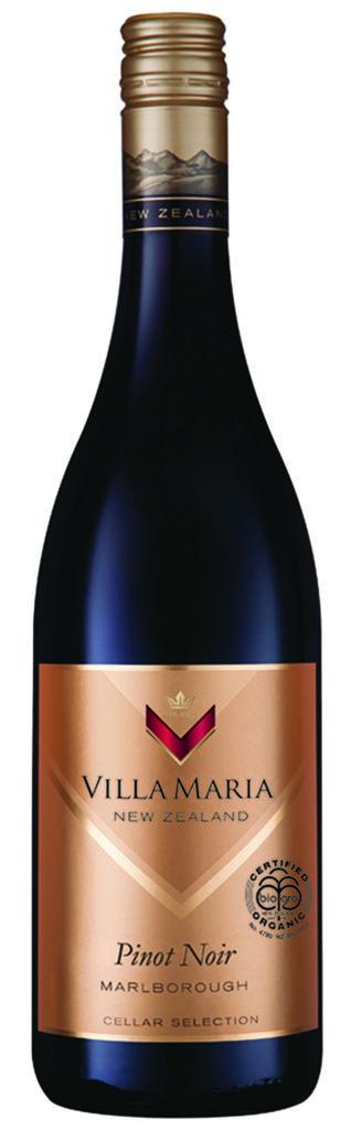 Cellar Selection Pinot Noir Marlborough 2018 Villa Maria Marlborough