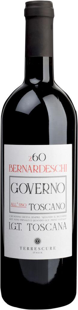 Bernardeschi 2.60 governo All Uso Toscano IGT Toscana 2018 TERRESCURE