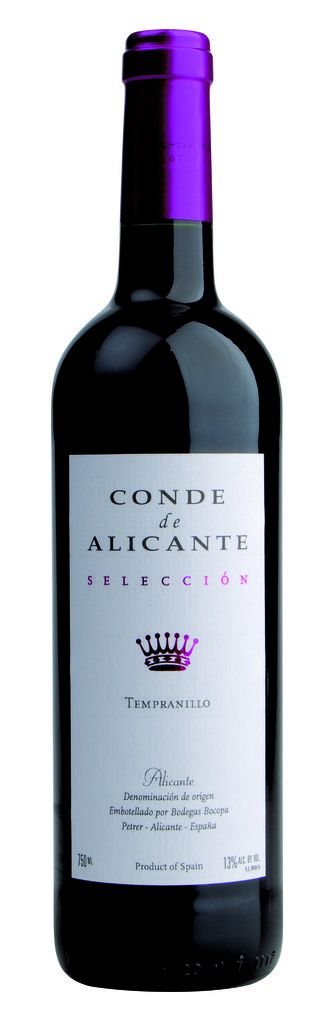 Tempranillo Alicante DO 2019 Conde de Alicante Alicante
