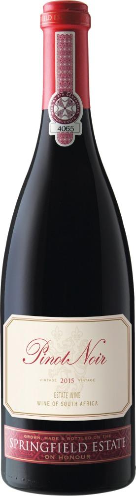 Pinot Noir Springfield Estate 2016 Springfield Estate Robertson Valley