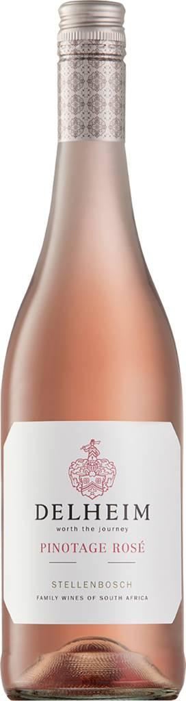 Delheim Pinotage Rosé Coastal Region 2021 Delheim Wines