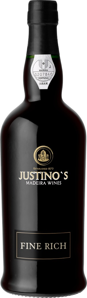 Madeira Fine Rich DOP 3 Years Old Justino's Madeira Wines Madeira