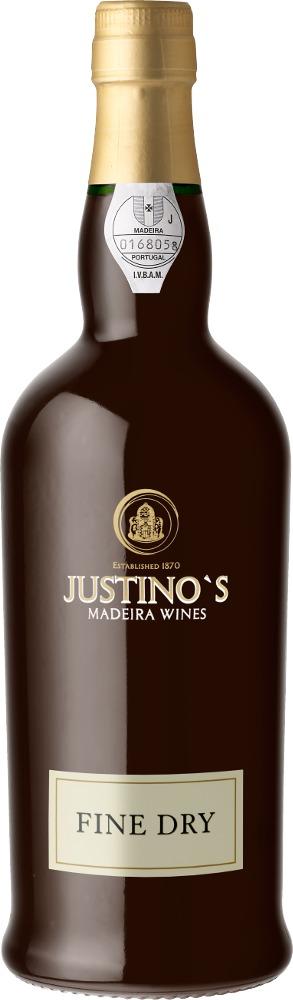 Madeira Fine Dry DOP 3 Years Old Justino's Madeira Wines Madeira
