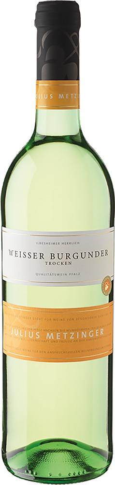 Südpfälzer Weinvertrieb Julius Metzinger Weißer Burgunder QbA trocken 2019
