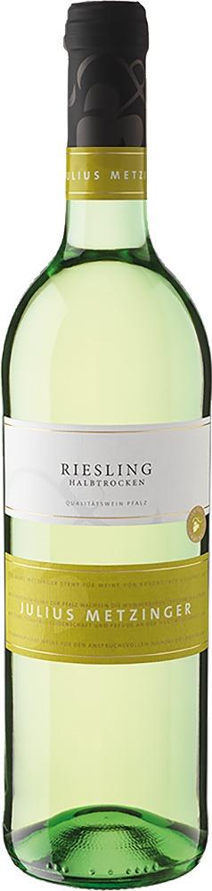 Südpfälzer Weinvertrieb Julius Metzinger Riesling QbA halbtrocken 2019
