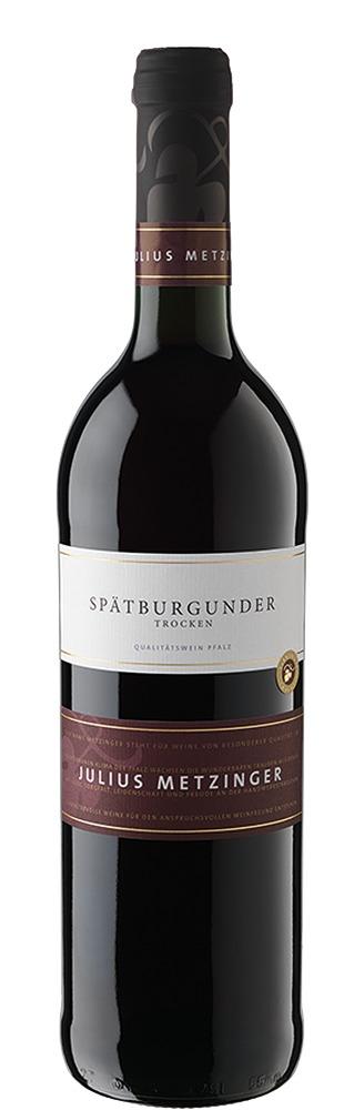 Südpfälzer Weinvertrieb Julius Metzinger Spätburgunder QbA trocken 2017