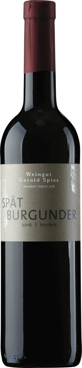 Spätburgunder trocken Weingut Gerold Spies 2017 Weingut Gerold Spies