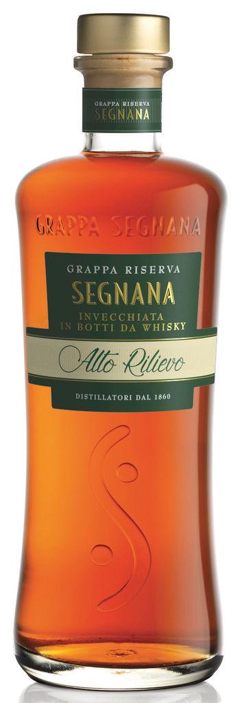 Grappa Segnana Invecchiata in botti da Whisky Segnana Trentino