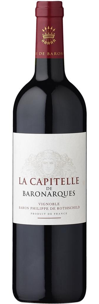 Domaine Baronarques La Capitelle de Domaine de Baron'arques Second Vin Rouge Limoux AOC 2016