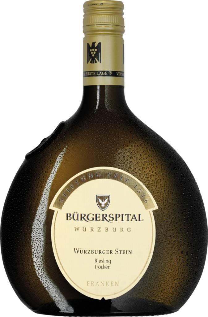 Weingut Bürgerspital Würzburger Stein Riesling Franken QbA trocken 2019