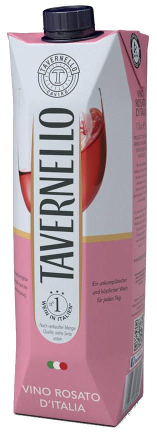 Vino D'Italia Rosato Tavernello