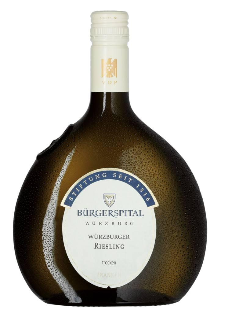 Würzburger Riesling Franken QbA trocken 2019 Weingut Bürgerspital