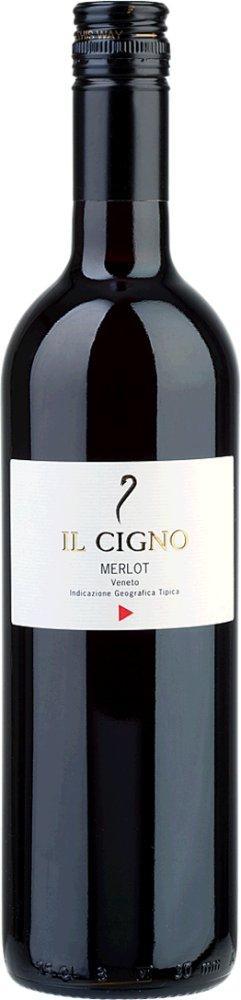 Merlot Il Cigno IGT Veneto (1,0l) 2017 Il Cigno Venetien