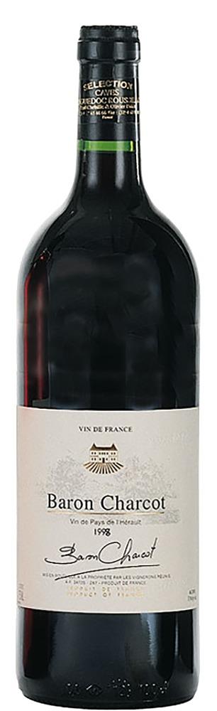 Les Vins de Saint Saturnin Baron Charcot rouge Vin de Pays de l'Herault 2019