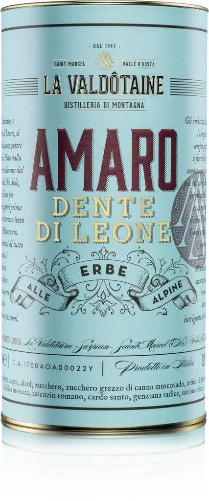 La Valdotaine Amaro Dente Di Leone La Valdôtaine
