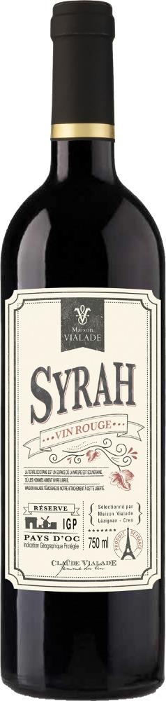 Maison Vialade Vintage Syrah Pays d'Oc IGP 2019 Saint Auriol Pays d'Oc