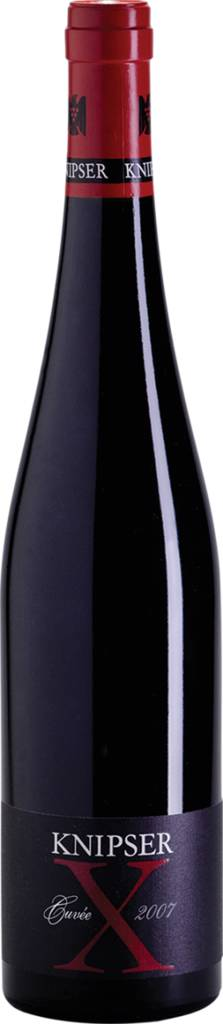 Cuvée X - Rotweincuvée Pfalz QbA trocken 2015 Weingut Knipser Pfalz