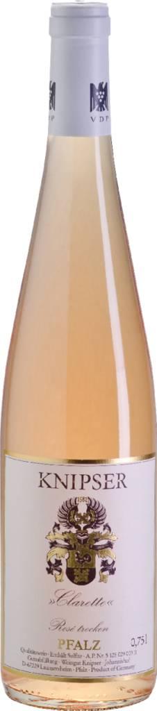 Clarette - Cuvée rosé Pfalz QbA trocken 2020 Weingut Knipser Pfalz