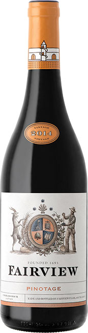 Fairview Wines Estate Pinotage 2017 Fairview Western Cape