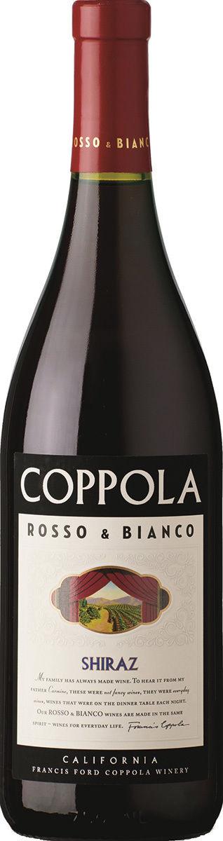 Coppola Rosso & Bianco Shiraz 2016 Francis Ford Coppola Winery