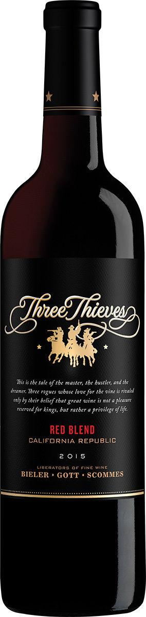 Three Thieves Red Blend 2015 Three Thieves Kalifornien