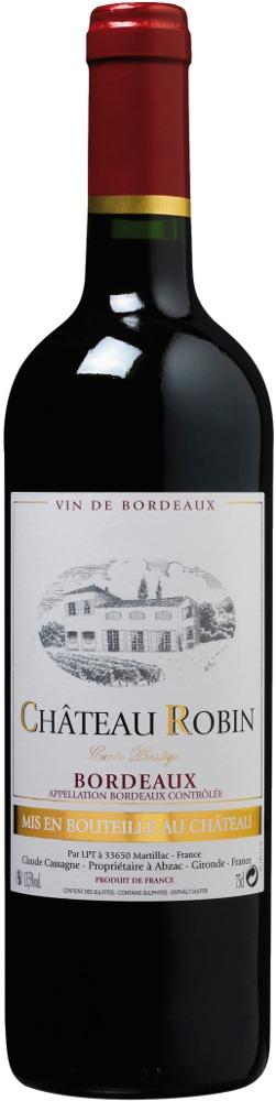 Château Robin Bordeaux AOC 2019 Château Robin Bordeaux