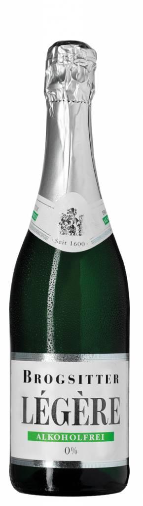 Brogsitter Légère trocken Schäumendes Getränk aus alkoholfreiem Wein