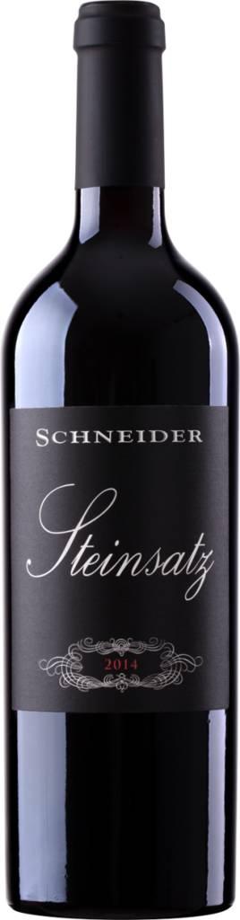 Weingut Markus Schneider Steinsatz - Rotweincuvée Pfalz QbA trocken 2016