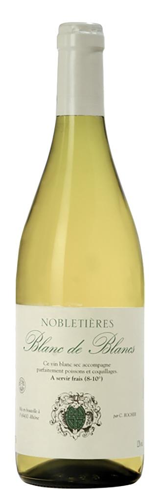 Rocher Blanc de Blancs Nobletières Vin de France Claudius Rocher