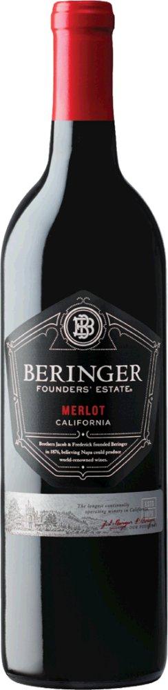 Merlot Founders' Estate WO California 2017 Beringer Kalifornien