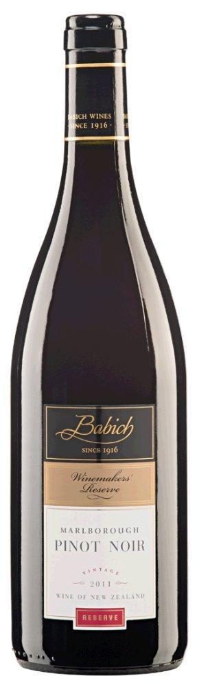 Pinot Noir Winemakers Reserve Marlborough 2015 Babich Wines