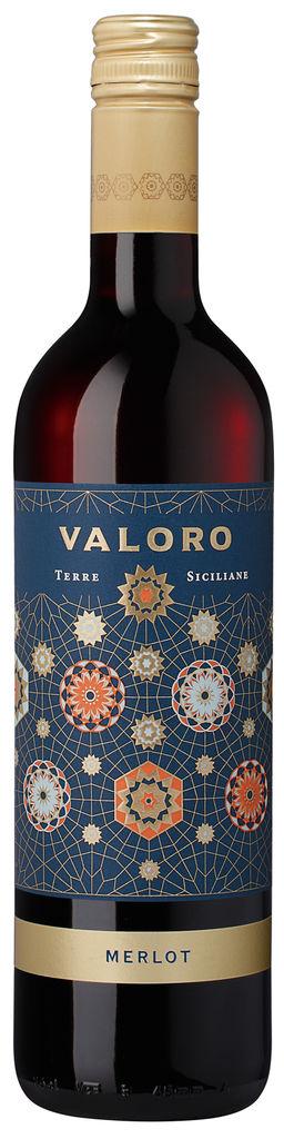 Valoro Merlot Terre Siciliane IGP 2019 Valoro Sicilia Sizilien