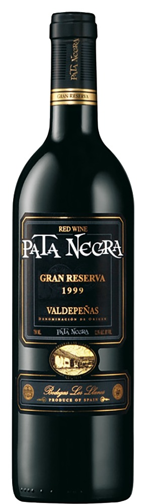 Valdepeńas Gran Reserva Pata Negra DO 2012 Bodegas Los Llanos