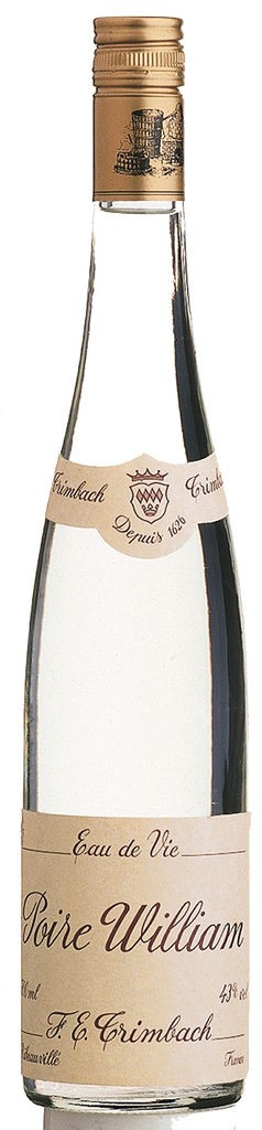 Eau de Vie de Poire William (Williamsbirne) F.E. Trimbach Elsass