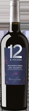 12 e Mezzo Malvasia Nera del salento IGP Varvaglione Apulien