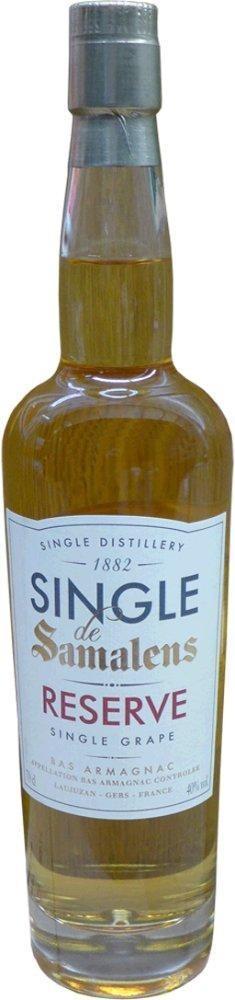 Single de Samalens Réserve 40% vol Single Grape (0,7l) Armagnac Samalens