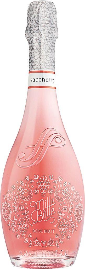 Mille Bolle Spumante Brut Rosé Sacchetto Venetien