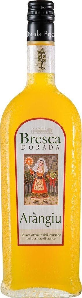 Aràngiu Orangenlikör Bresca Dorada Sardinien