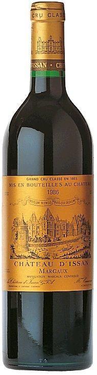 Château dIssan 3ème Cru Classé Margaux AOC Château D'Issan Bordeaux
