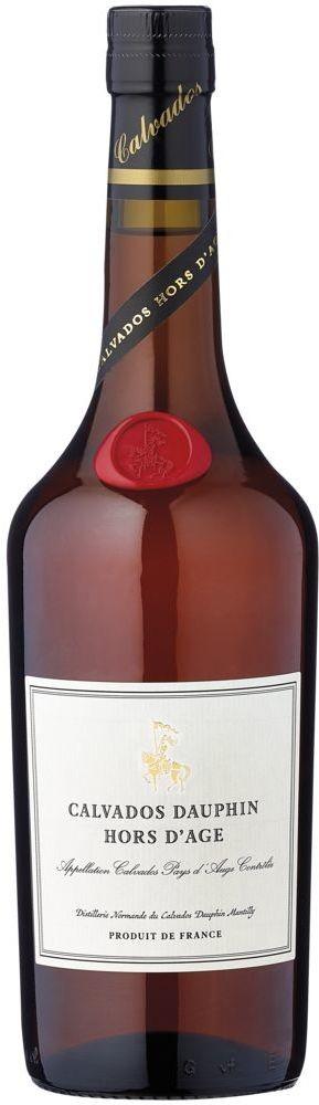 Calvados Dauphin Hors d'Age Très Vieille Fine Calvados Pays d'Auge 40% vol Calvados Dauphin