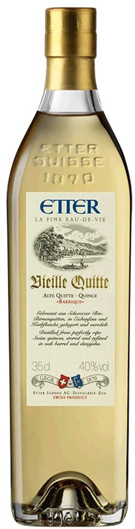 Etter Vieille Quitte aus Schweizer Hausgärten,l 40% Vol. Etter Söhne AG Distillerie Zug