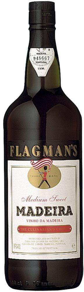 Flagman's Madeira 19% vol Literflasche Henriques & Henriques Vinhos