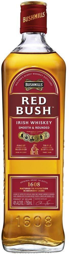 Bushmills Red Bush Irish Whiskey 40% vol Bushmills
