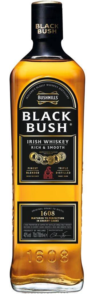 Bushmills Black Bush Irish Whiskey 40% vol Literflasche Bushmills