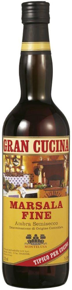 Gran Cucina Marsala Fine DOC 17% vol Baglio Curatolo Arini 1875