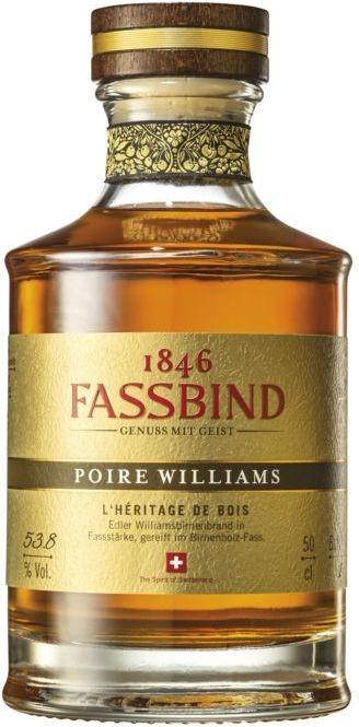 Fassbind L'Heritage de Bois Williams 53,8% vol S. Fassbind