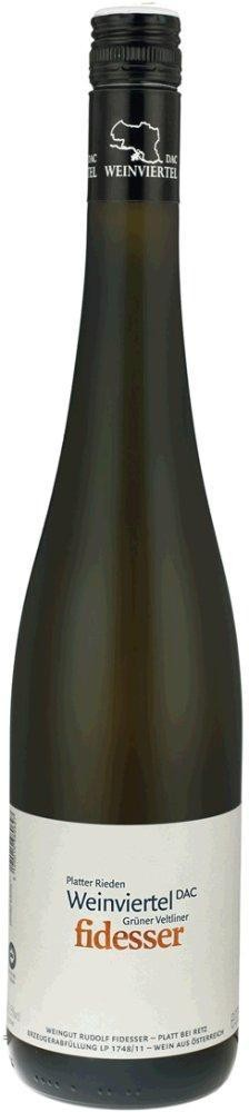 Grüner Veltliner Platter Rieden DAC Weinviertel 2015 Weingut Rudolf Fidesser