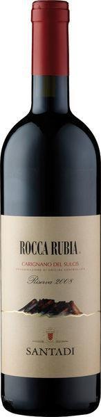 Carignano Riserva Rocca Rubia DOC Santadi Sardinien