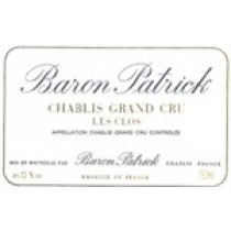 Baron Patrick Chablis Les Clos Chablis Grand Cru AOC